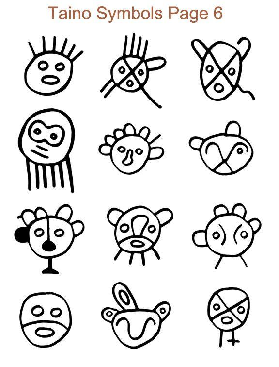 Taino Indian Warrior Symbols | www.pixshark.com - Images ...