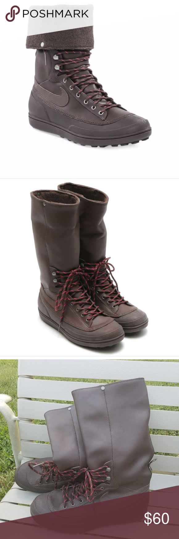 d93279c2a078 Nike Storm Warrior Boots size 7 These are nike storm warrior boots brown in  color size 7. Nike Shoes Winter   Rain Boots