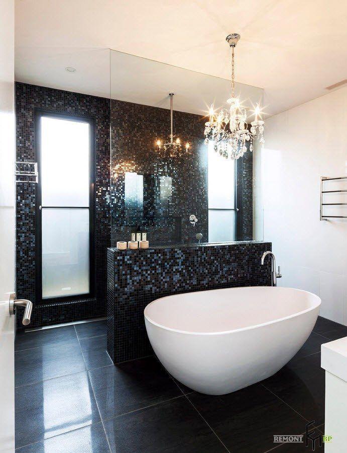 100 лучших идей: мозаика в ванной комнате на фото ...