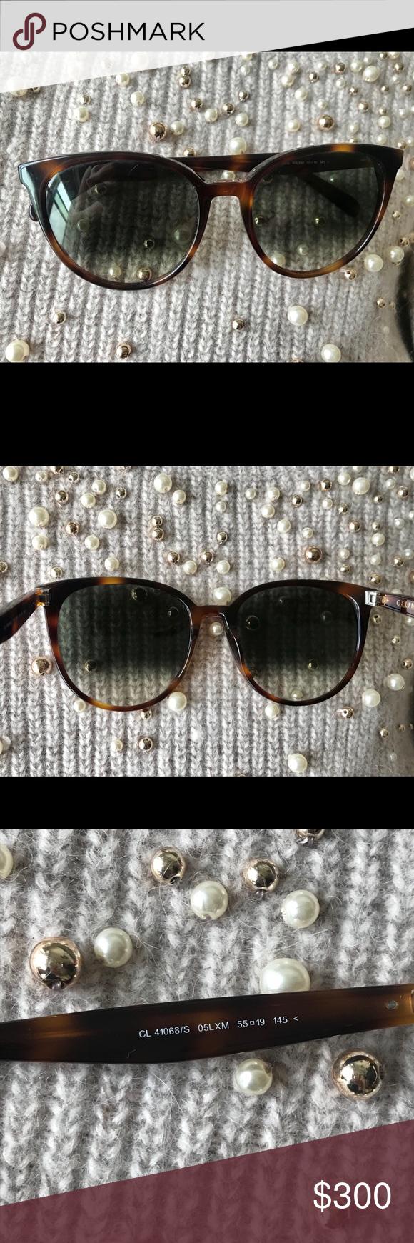 21ecb603d0fb NWOT Céline Thin Mary cat eye sunglasses in 2018