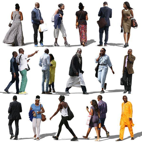 Texture Psd African People Black Render People People Cutout People Png