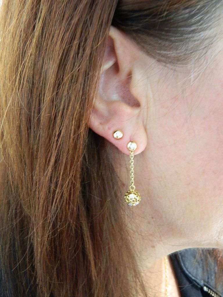 Piercing nose diamond  Understated gold styles from Barcelonabased jewelry brand Ramon