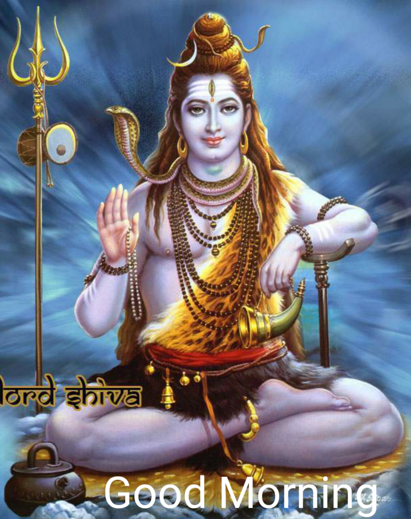 Good Morning Wishes Hindu Gods Lord Shiva Mahadev Shiv Ji Subh