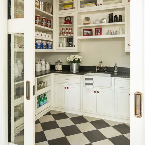 Rever Pewter-BM-Bywood Street Residence - transitional - kitchen - minneapolis - Martha O'Hara Interiors