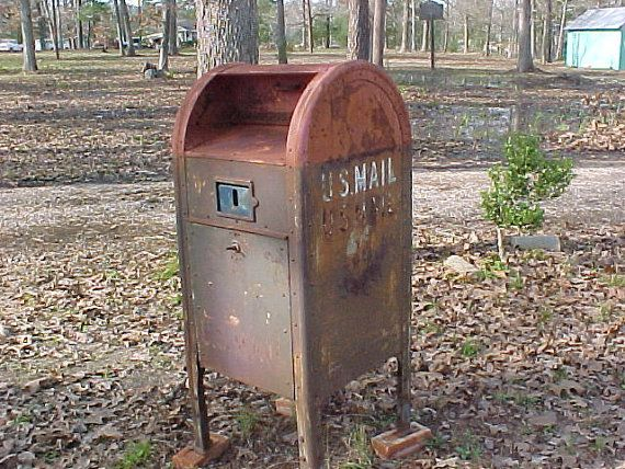 Vintage Usps Mail Drop Box By Chipandrusty On Etsy 1495