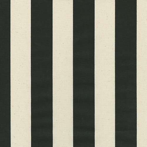 Black And Off White Striped Fabric Discount Black And Natural