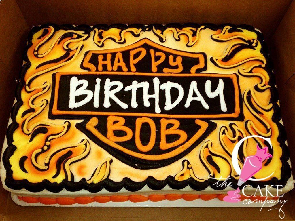 Harley Davidson cake Adult Birthday Cakes Pinterest Harley