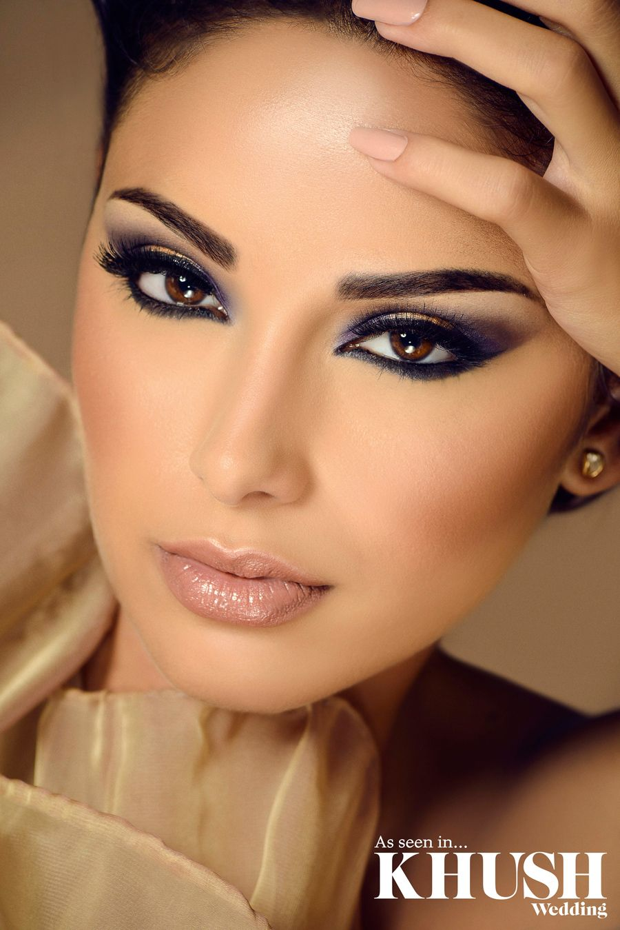 Perfect summer makeup by Elegance By Ketna (Hair & Makeup