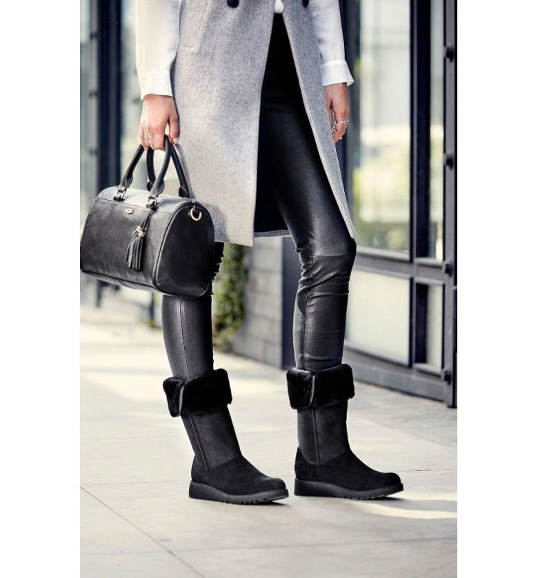 710ffd52e61 Main Image - UGG® Kara - Classic Slim™ Water Resistant Tall Boot ...