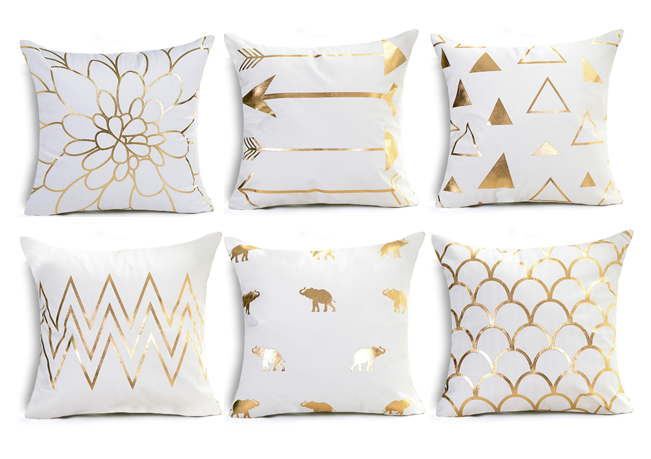 Outstanding Gold Black And White Throw Pillows Rouse The Room In 2019 Cjindustries Chair Design For Home Cjindustriesco