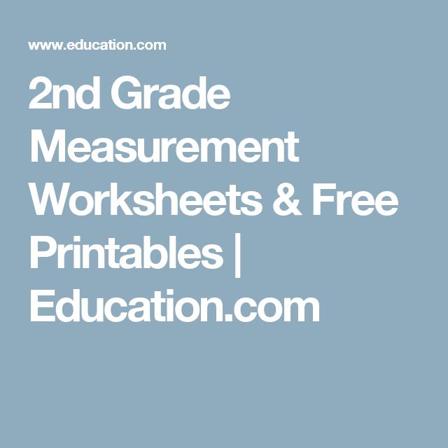 2nd Grade Measurement Worksheets Free Printables Education