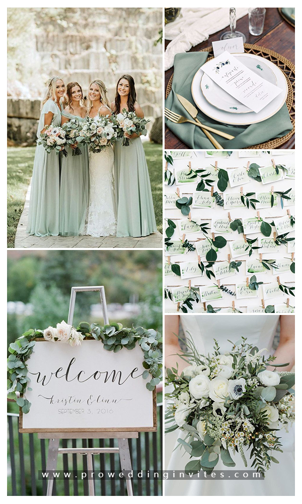 7 Stunning Wedding Color Palettes for 2020 Summer
