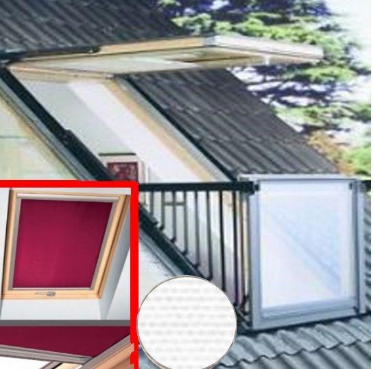 Wohnen unter'm Dach - himmlisch.....................  Superschöner Ausblick, aber z.Zt . auch sehr, sehr warm. Entscheiden Sie sich jetzt für ein Markenrollo von SOLARMATIC® und erleben Sie wesentlich angenehmer temperierte Räume und erholsamen Schlaf, auch bei Tag.  Das Rollo besitzt eine Thermostoff, der rückseitig eine wärmeabweisende Alubeschichtung hat. Sie wüschen mehr Produktinformatioen? Fragen Sie uns: Tel. 02245 618 49 56 oder heizep-sonne@web.de