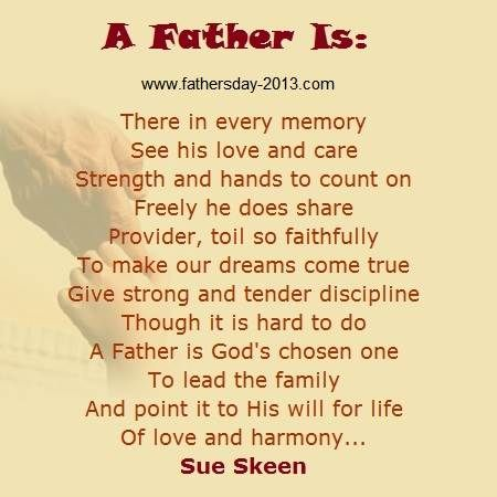 Religious Fathers Day Poems 6