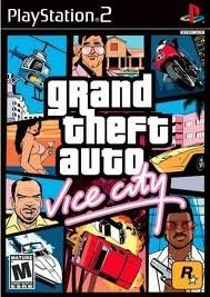Grand Theft Auto Vice City Ps2 Game Kaushik Pinterest Juegos