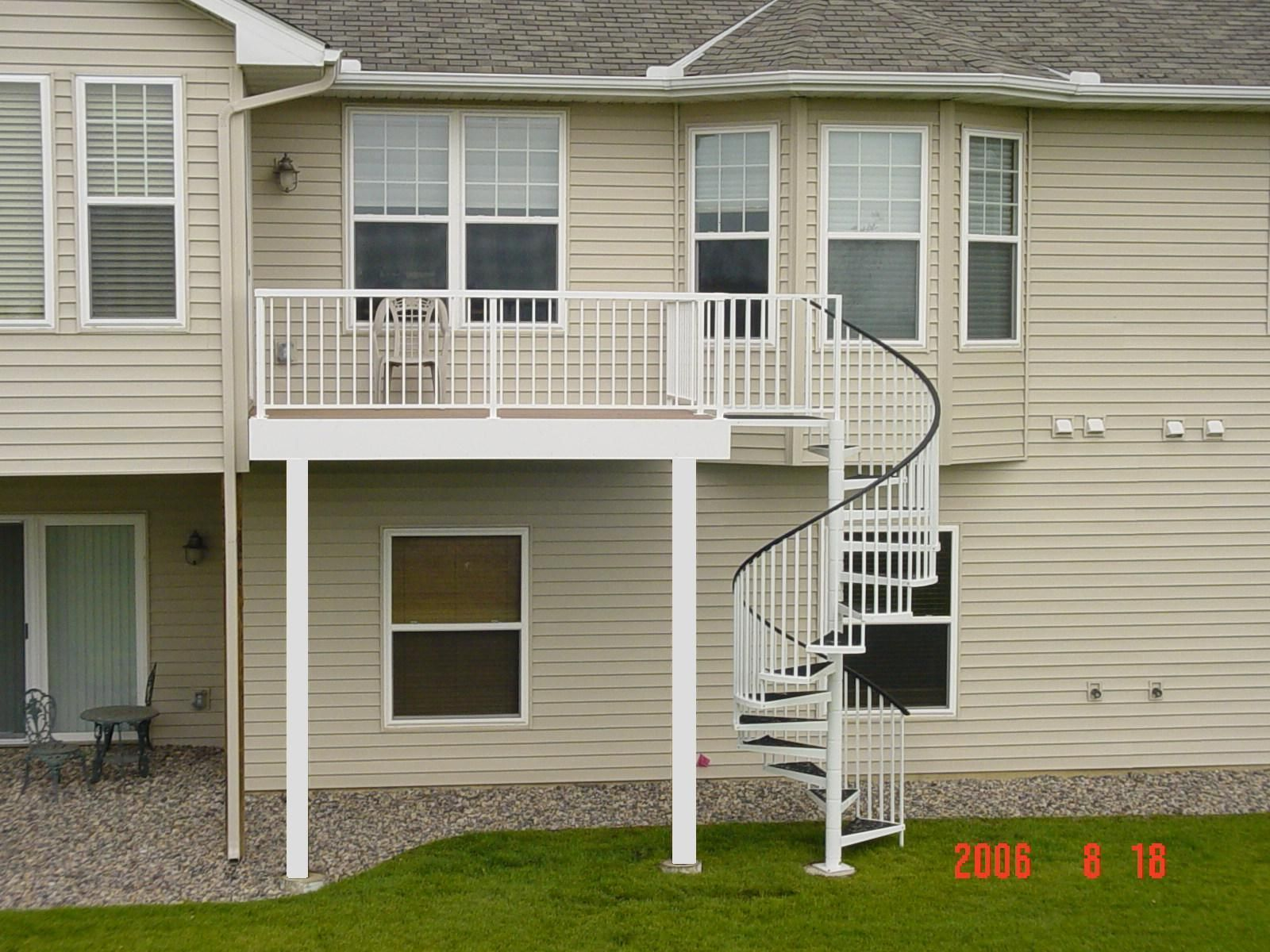 Best I Love The Spiral Staircase Off The Deck I D Like To See 640 x 480