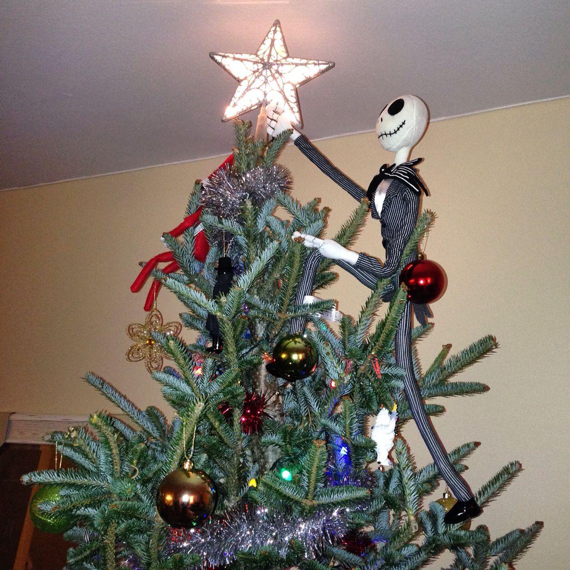 Lenox Christmas Tree Toppers Part - 41: Jack Skellington Tree Topper. Nightmare Before Christmas