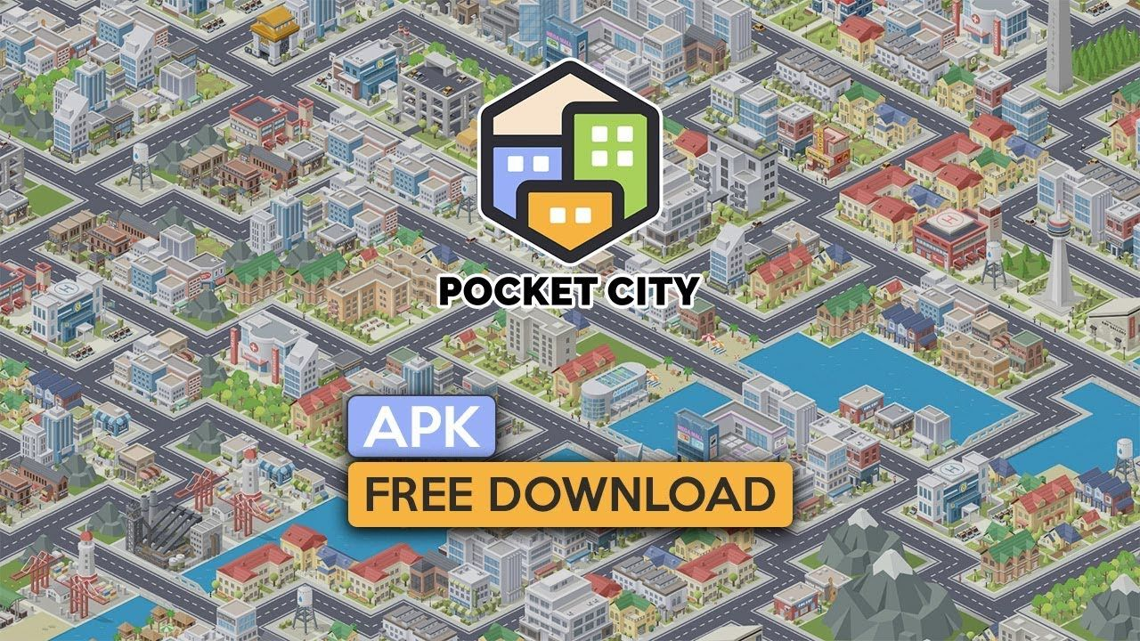 Pocket City Apk for Android free Download 2019 (With
