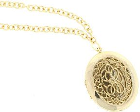 Lanie Lynn Vintage Jewelry Gold Locket Necklace on shopstyle.com