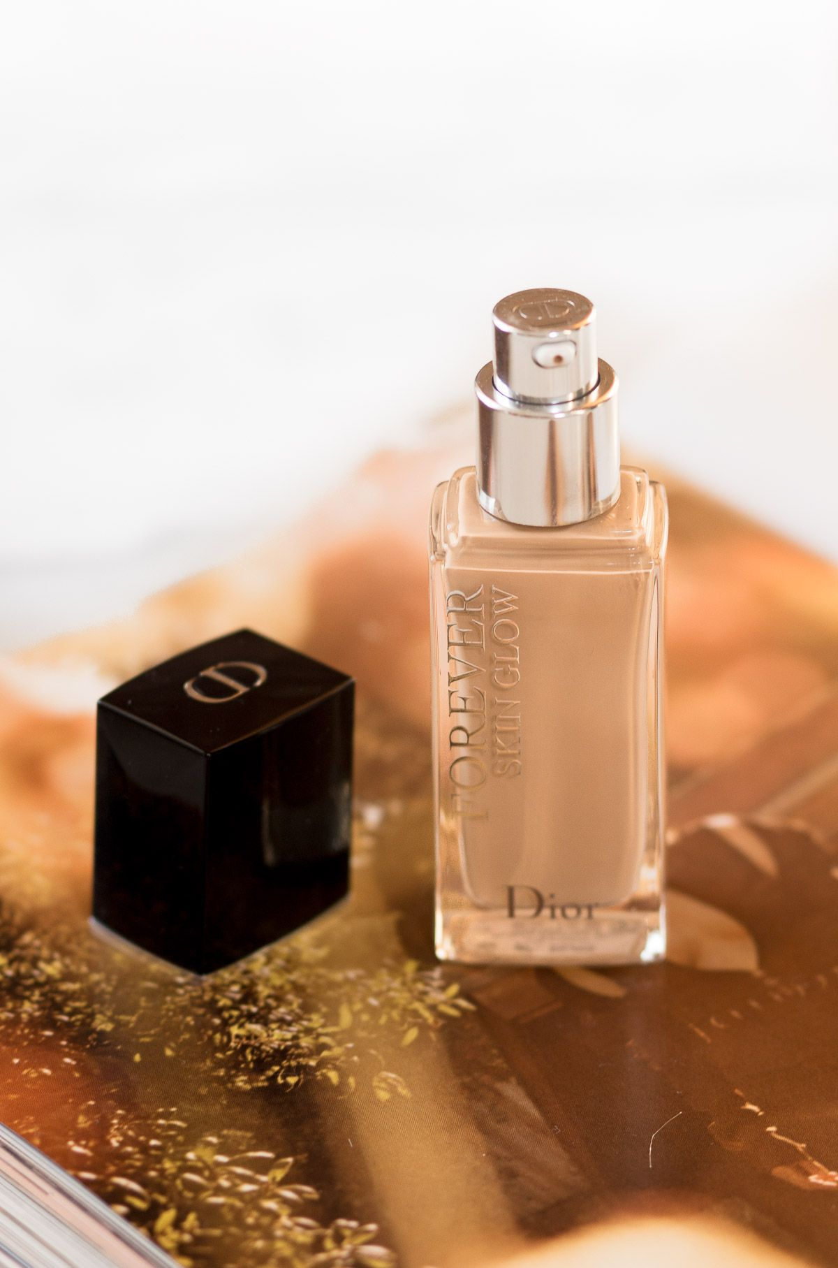 DIOR FOREVER SKIN GLOW FOUNDATION REVIEW (With images