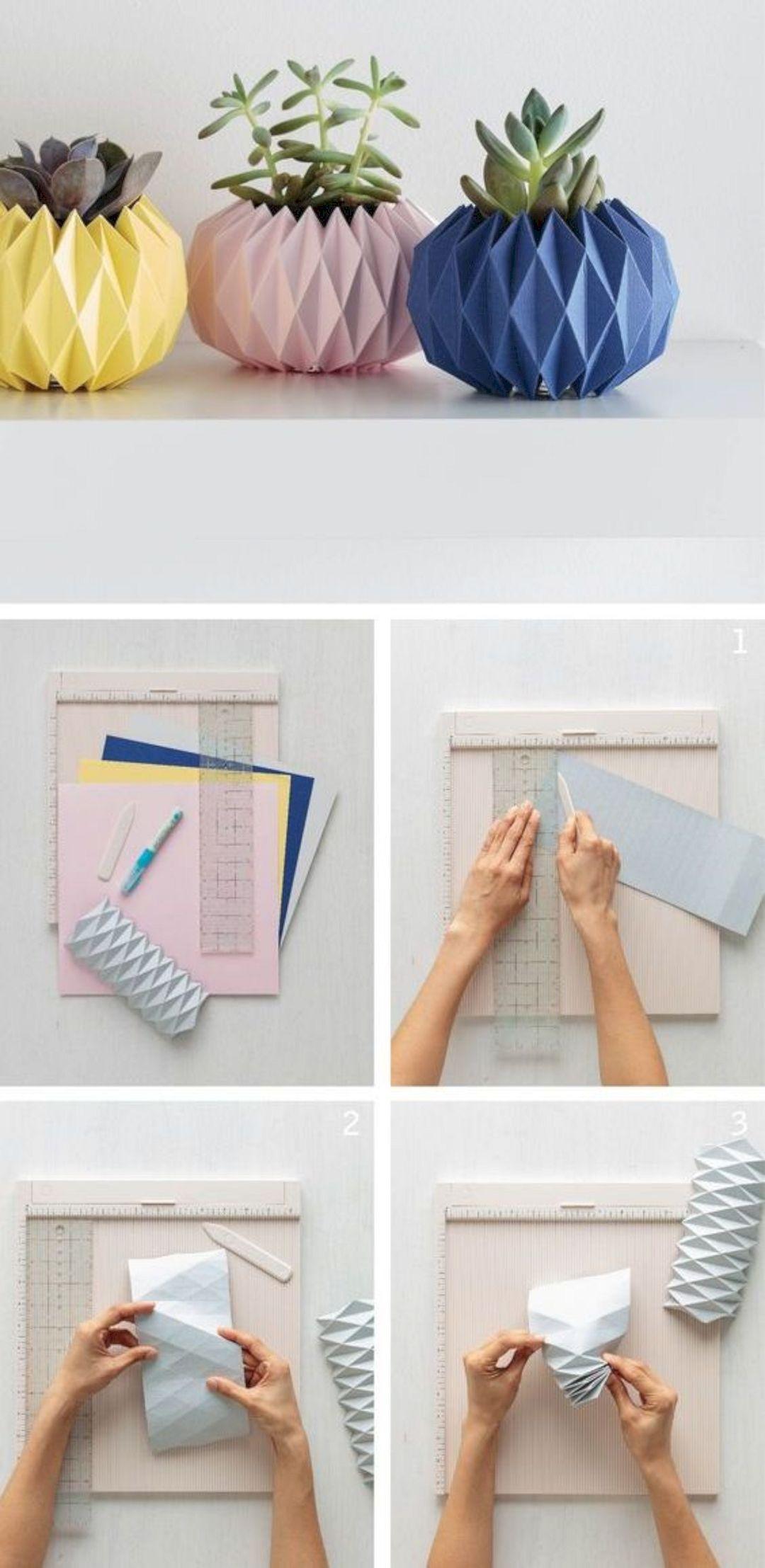 17 Beautiful Diy Origami Home Decor Origami Design Diy Origami Origami Easy