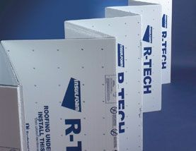 R Tech Fanfold Eps Foam Insulation 1 2 Inch White Foil Faced 2 Sq Bag R Tech Fanfold Eps Foam Insul Foam Insulation Foam Insulation Board Roofing Supplies