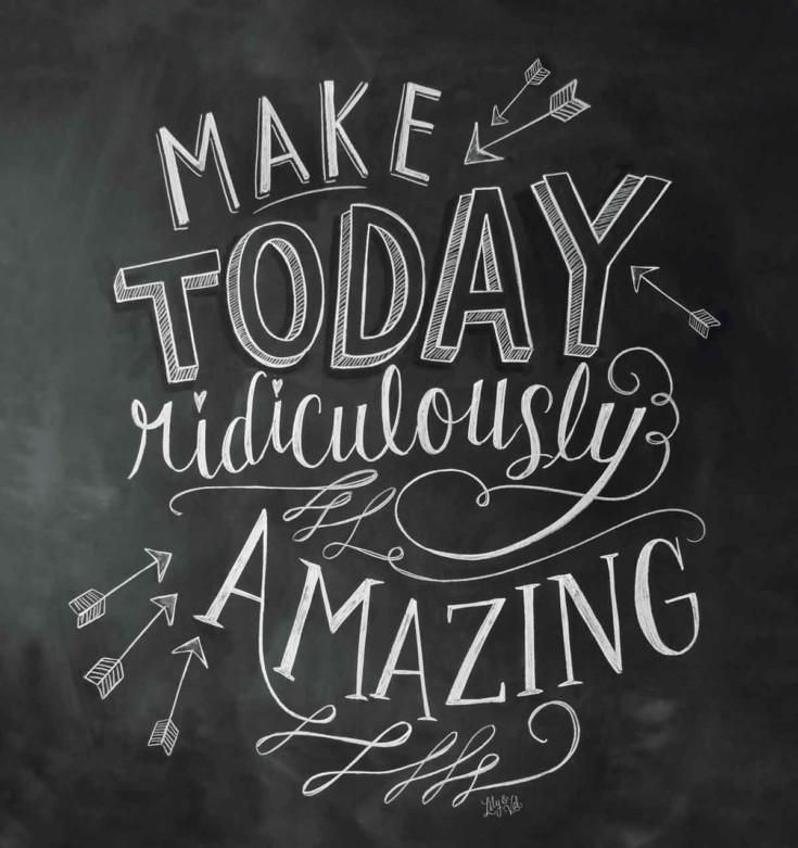 20 Inspirational Quotes for your Chalkboard!