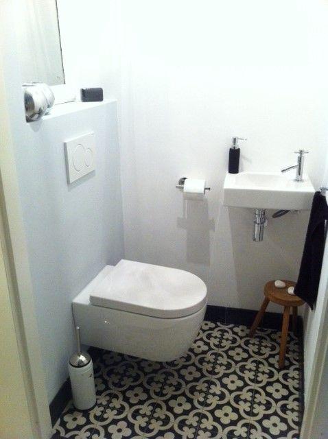 Voorbeelden tegels toilet - Toilet patroon tegels | Pinterest ...