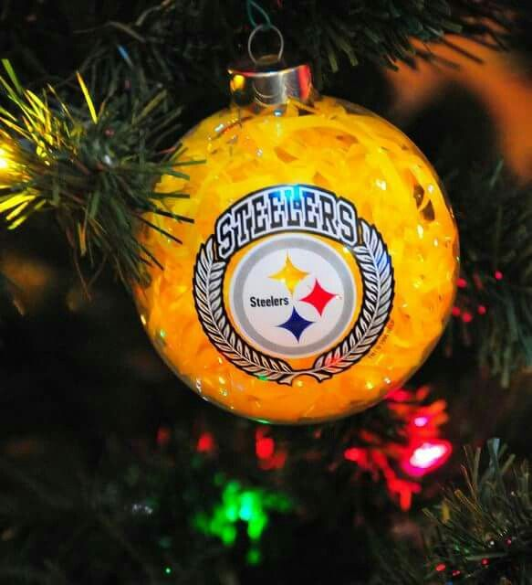 PITTSBURGH STEELERS~Steelers Ornament Diy Christmas Ornaments 380b7f692