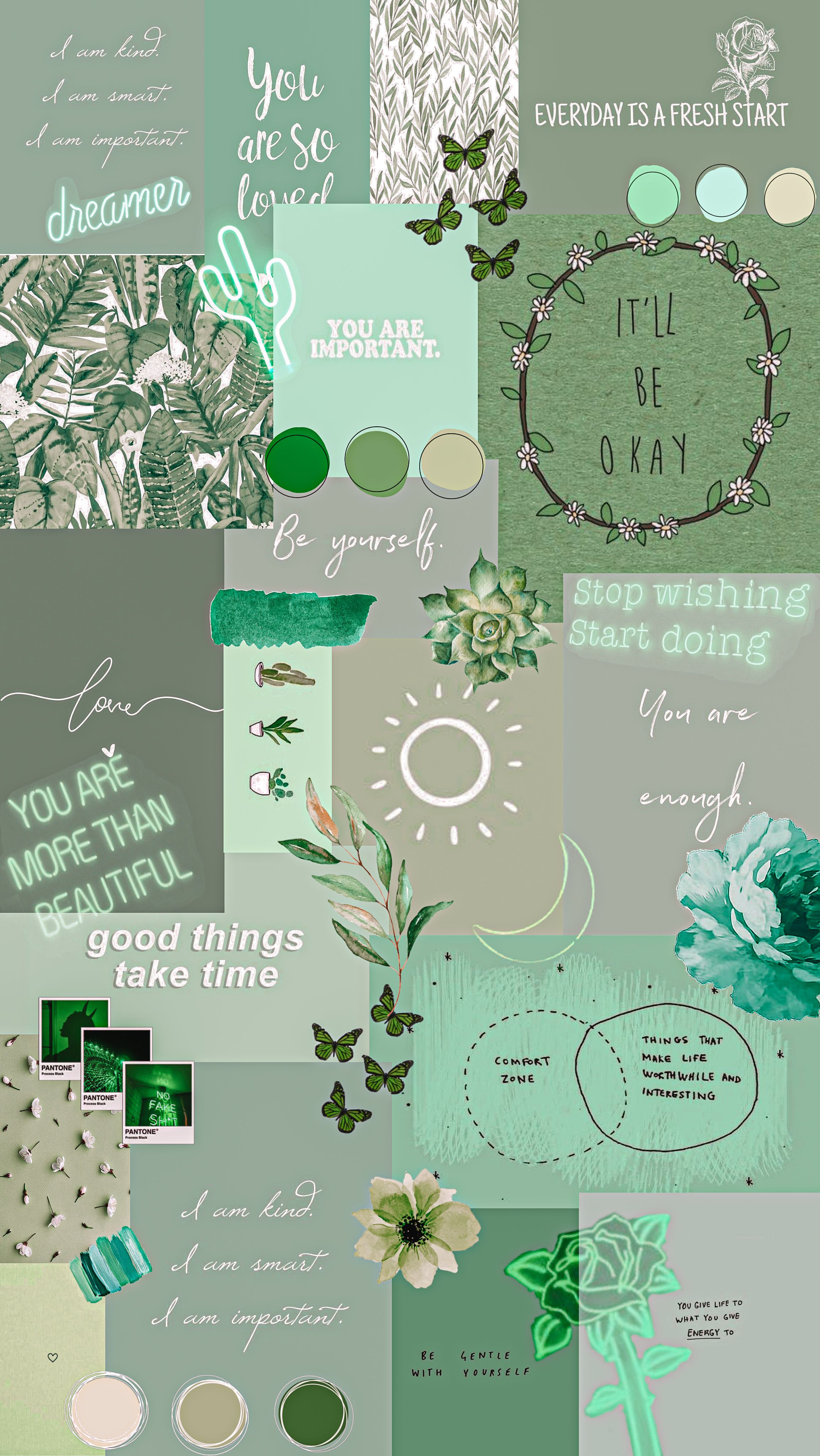 Pin By Meagan Hill On Collage In 2020 Iphone Wallpaper Tumblr Aesthetic Iphone Wallpaper Green Aesthetic Iphone Wallpaper