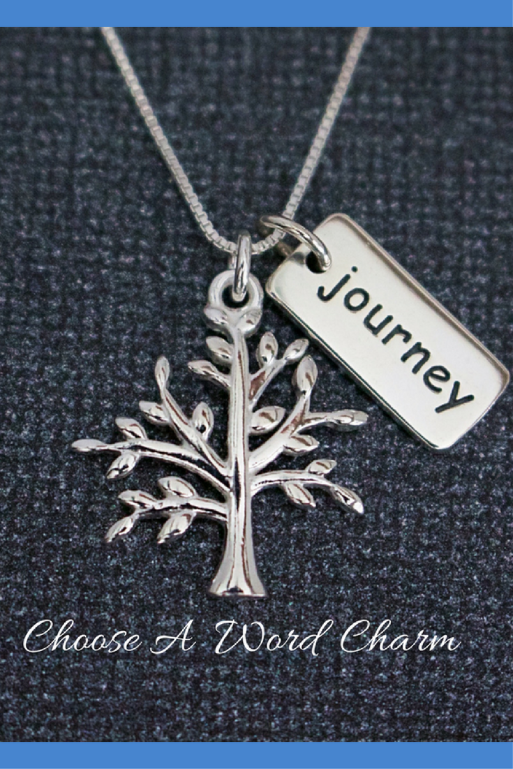 Tree of life journey word charm sterling silver necklace symbolic tree of life journey word charm sterling silver necklace symbolic family tree gift sister mom tree journey life gift tree o life necklace mozeypictures Images
