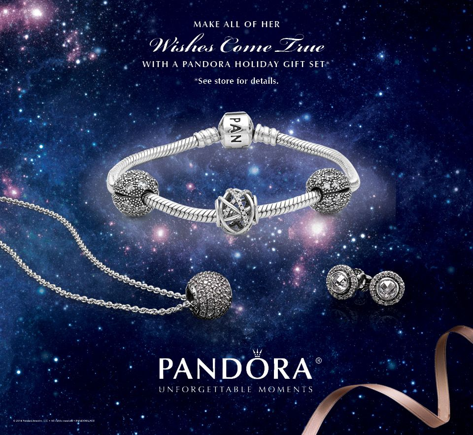 PANDORA Wish Upon a Star Bundle includes the stargazer gift set, the  starlight gift set and the black Friday bead