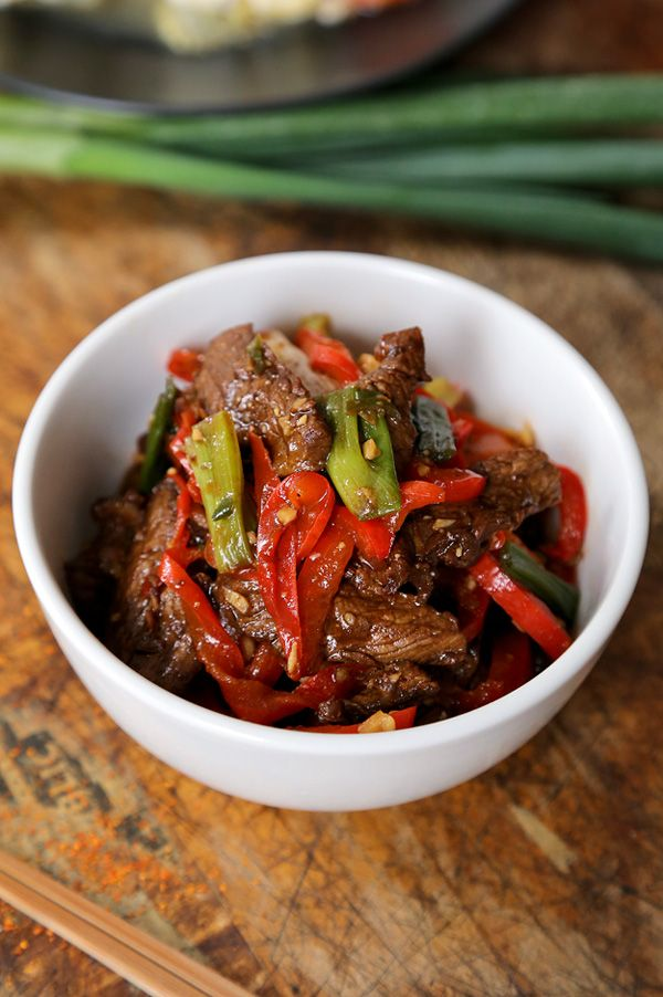 Stir Fry Beef With Spicy Hoisin Sauce Recipe With Images