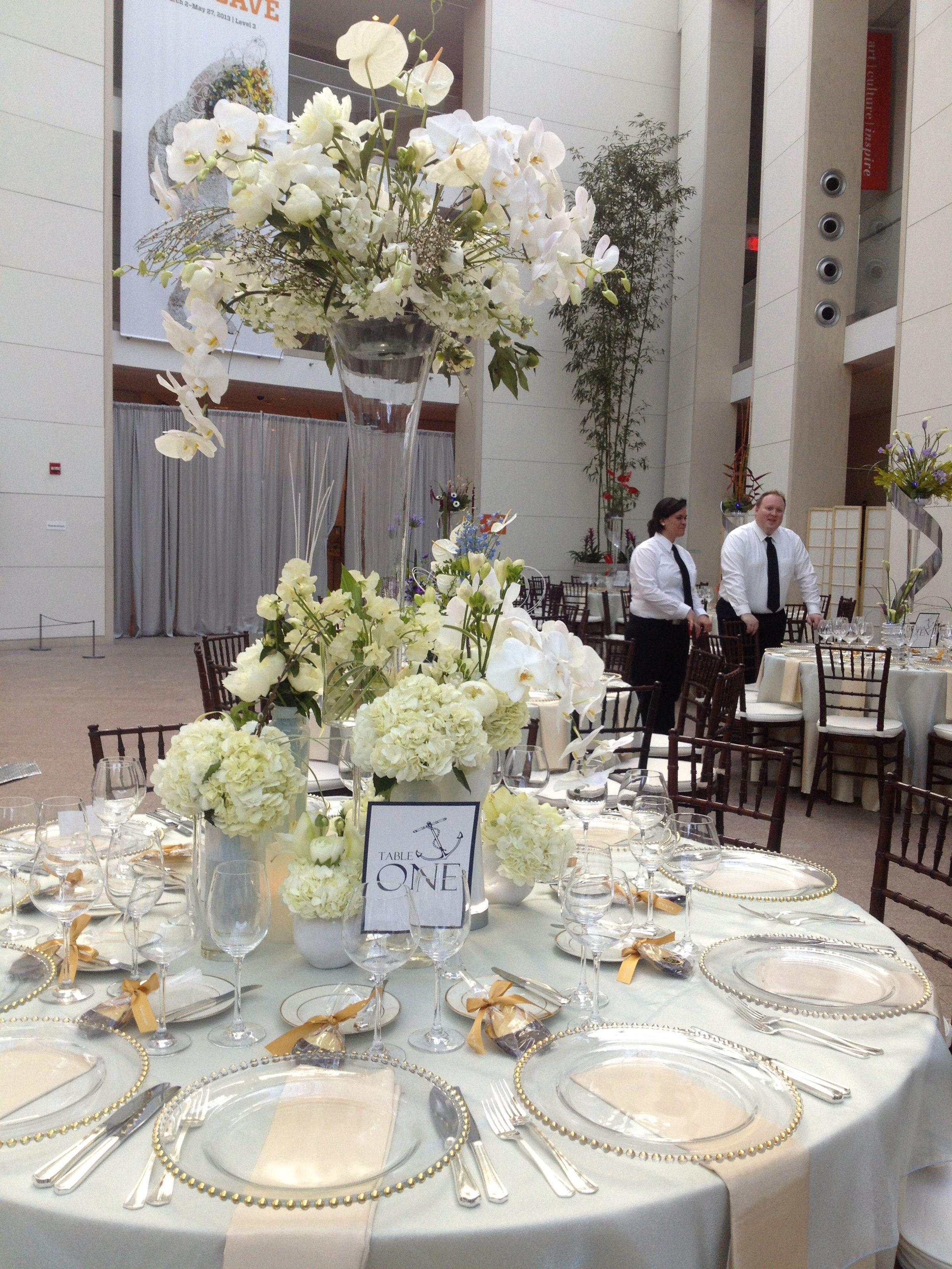 Wedding linen décor gold and white pretty linens pinterest