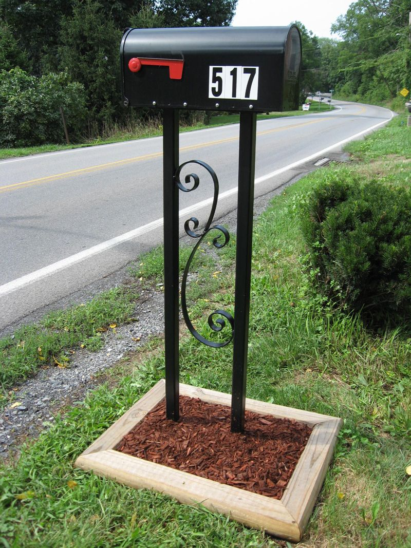 mailbox posts metal. Custom Mailbox Posts For Your Home - Located In State College, PA Metal 0