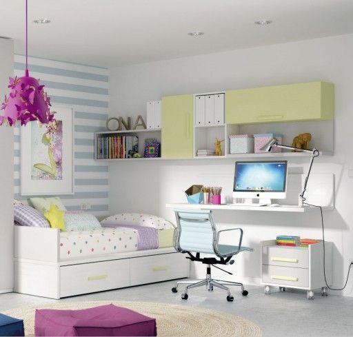Soluciones de almacenaje para dormitorios infantiles y juveniles ...