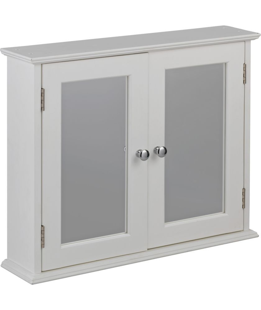 Buy Double Door Mirrored Bathroom Cabinet White At Argos Co Uk Your Online Shop For Bathroo Bathroom Mirror Cabinet White Bathroom Cabinets Bathroom Mirror