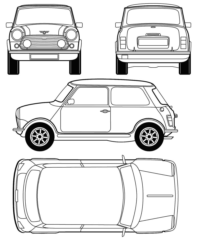 Austin Mini 3d
