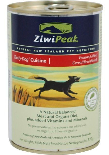 Ziwipeak Daily Dog Cuisine Venison Canned Dog Food Canned Dog