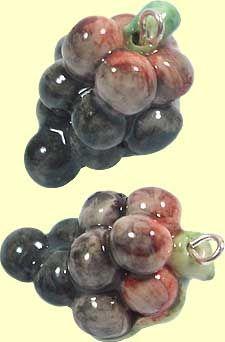porcelain grapes £3.45 each