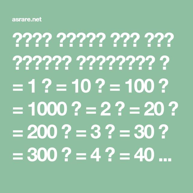 أدخل وشاهد صدق علم الحروف والأرقام ا 1 ي 10 ق 100 غ 1000 ب 2 ك 20 ر 200 ج 3 ل 30 ش 300 د 4 م 40 ت 400 هـ 5 ن 5 Math Math Equations