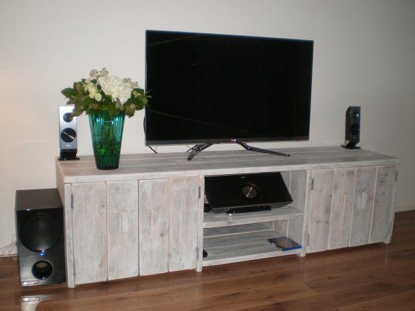 Steigerhout Tv Meubel White Wash.Afbeeldingsresultaat Voor Tv Meubel Steigerhout White Wash