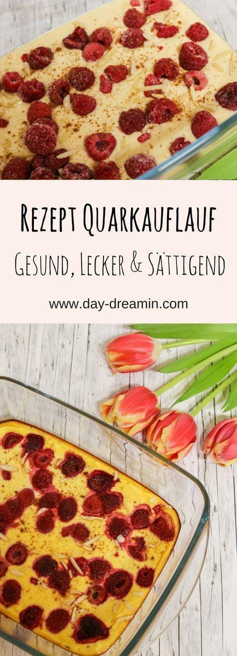 Himbeer-Quarkauflauf für ein leichtes Frühstück - daydreamin - Blog