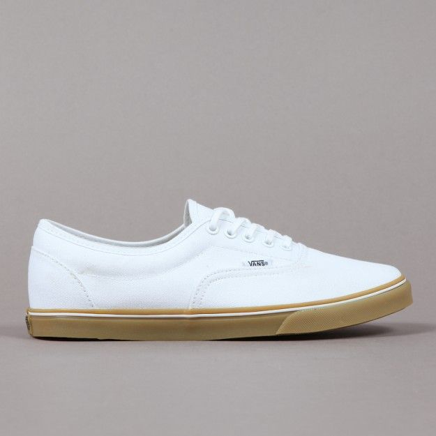 Vans White LPE Leather