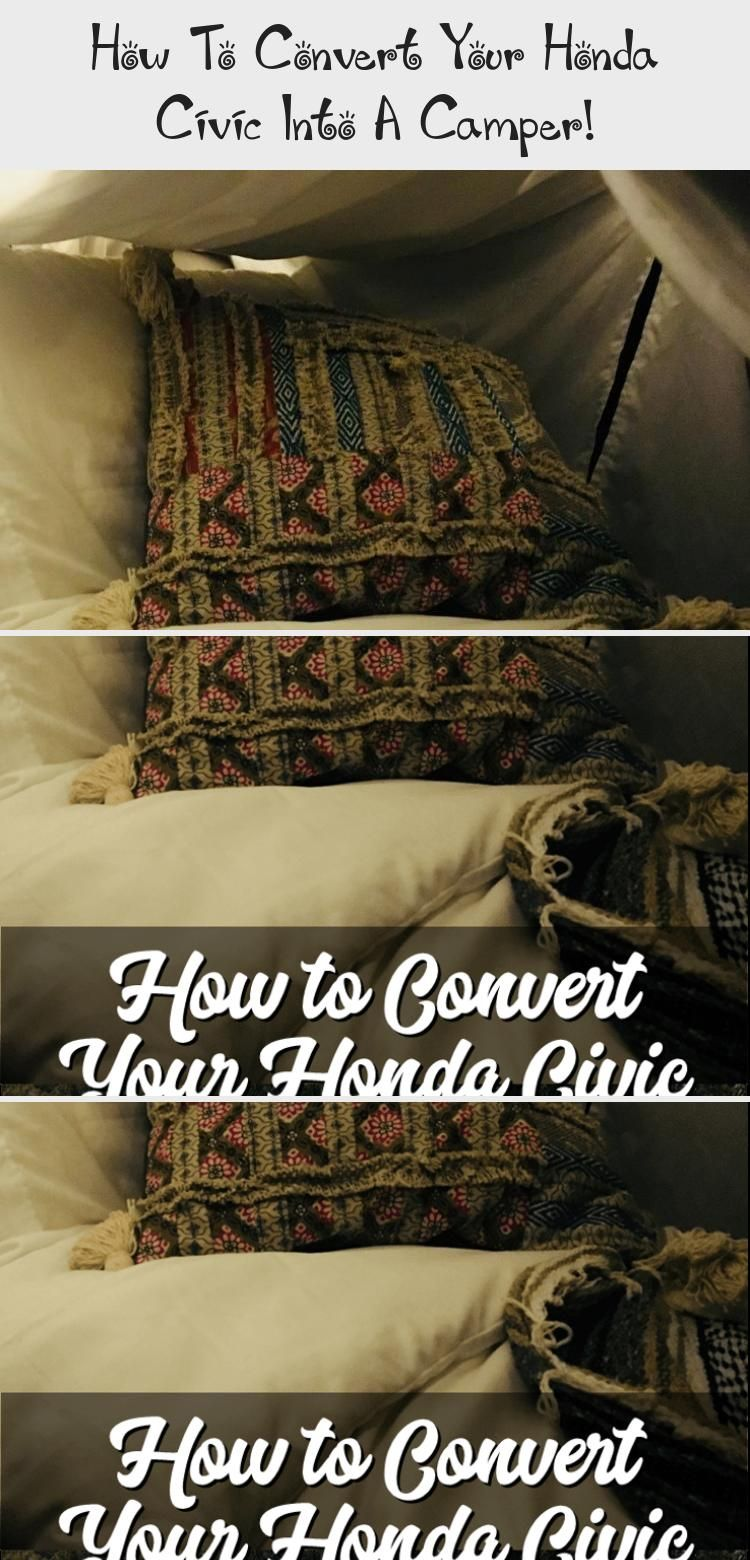 Are you looking for a way to sleep and live in your Honda Civic or other small car? Let me walk you through everything you need to sleep and live successfully in your car, including what to buy, what to DIY, and how much I spent on my own Honda Civic camper conversion! #carsForWomen #Smallcars #carsInterior #carsForTeens #carsIllustration