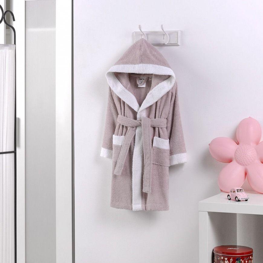 روب استحمام أطفال باللون الليلكي In 2020 Robe Fashion Bathroom Hooks