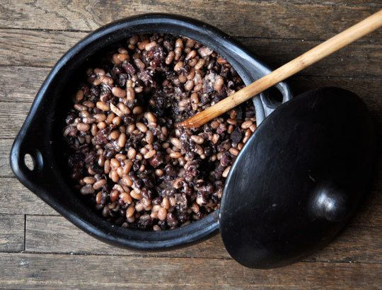 how to cook black beans in microwave