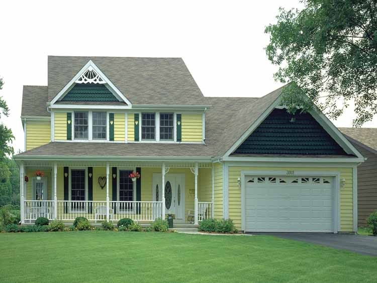 Country Style House Plan 4 Beds 3 Baths 1996 Sq Ft Plan 72 319