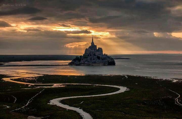 Mont St. Michael- Normandy-France
