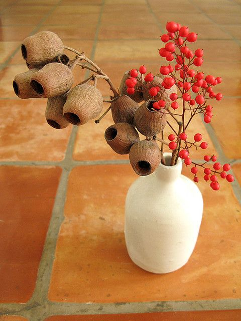 Christmas berry and eucalyptus pod merry berry and for Australian christmas decoration